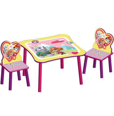 Delta Children Table & Chairs Set - Paw Patrol / Good Pups