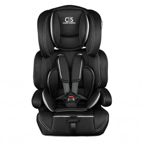 Cozy N Safe Logan Group 1/2/3 Car Seat - Black / Grey