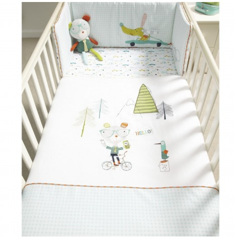 Mamas & Papas Cot / Cot Bed / Toddler Bed Quilt - Pixie & Finch