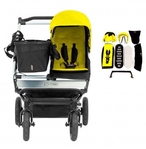 Mountain Buggy Duet With Family Pack - Cyber