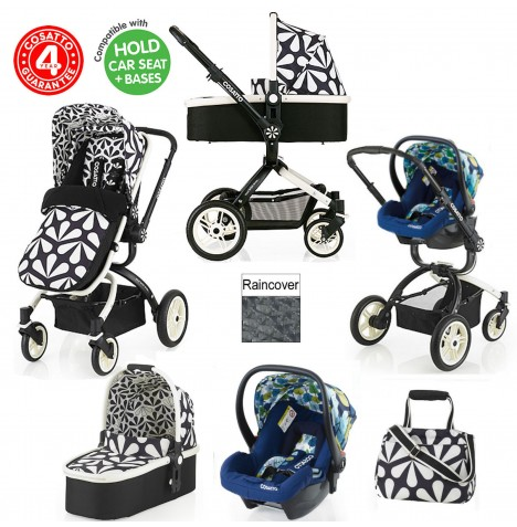 Cosatto Ooba 3 in 1 Travel System - Charleston / Nightbird