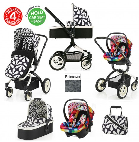 Cosatto Ooba 3 in 1 Travel System - Charleston / Pixelate