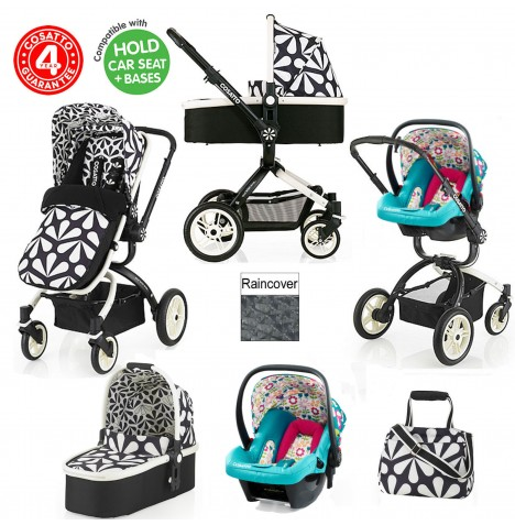 Cosatto Ooba 3 in 1 Travel System - Charleston / Happy Campers