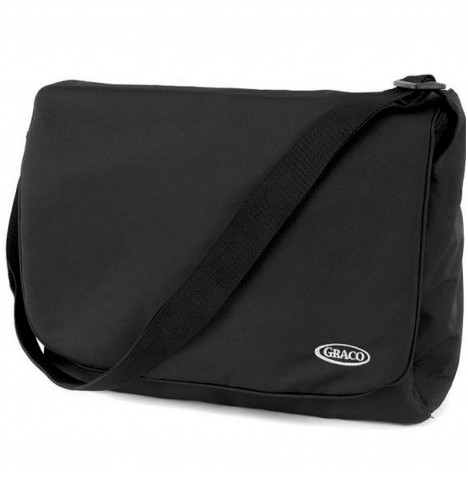 Graco Messenger Changing Bag - Black