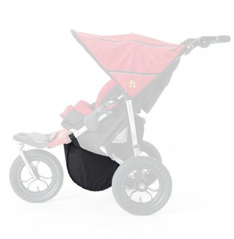 Out n About Nipper Double Basket - Black