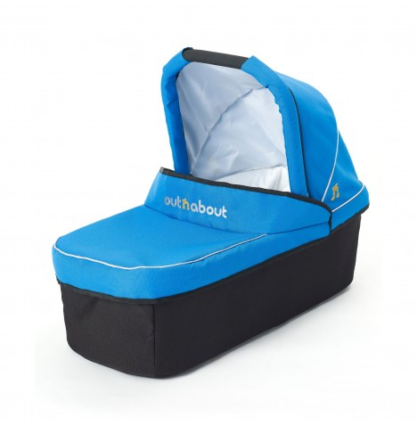 Out N About Nipper Single Carrycot - Lagoon Blue