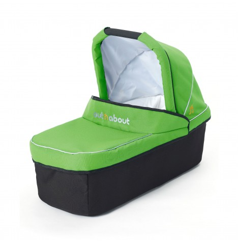 Out N About Nipper Single Carrycot - Mojito Green