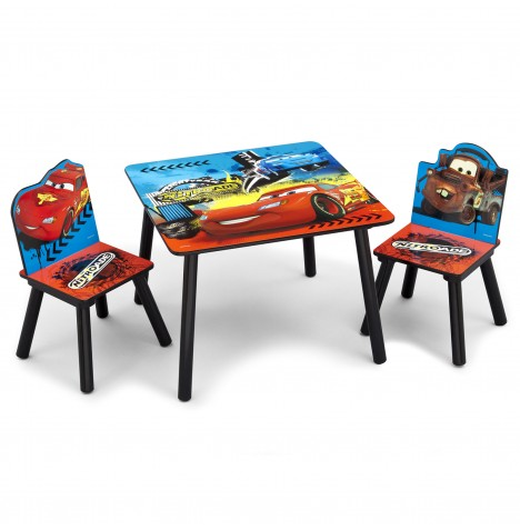 Delta Children Table & Chairs Set - Disney Pixar Cars..