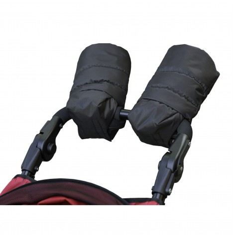 Out N About Pushchair Hand Muffs - Black