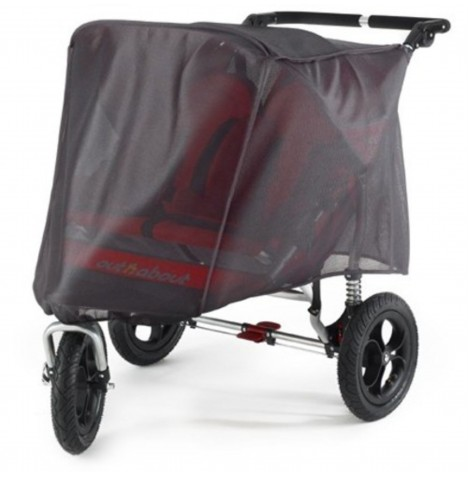 Out N About Double Pushchair UV Cover / Sun Shade