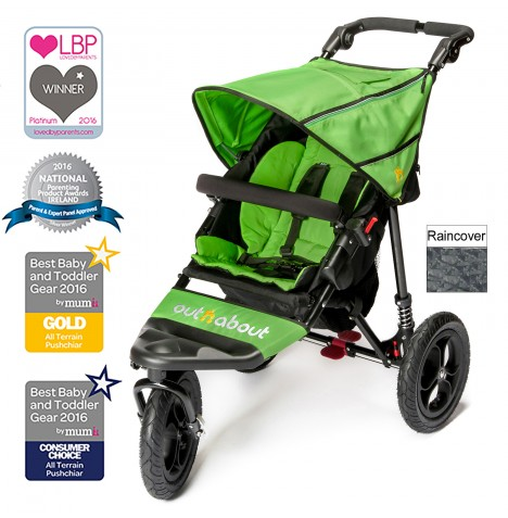 Out n About Nipper Single Pushchair - Mojito Green