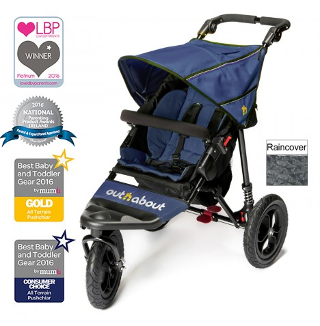 Out n About Nipper Single Pushchair - Royal Navy