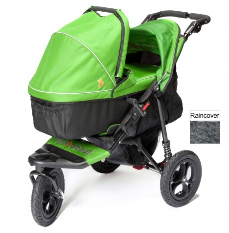 Out n About Nipper Single Pushchair & Carrycot - Mojito Green