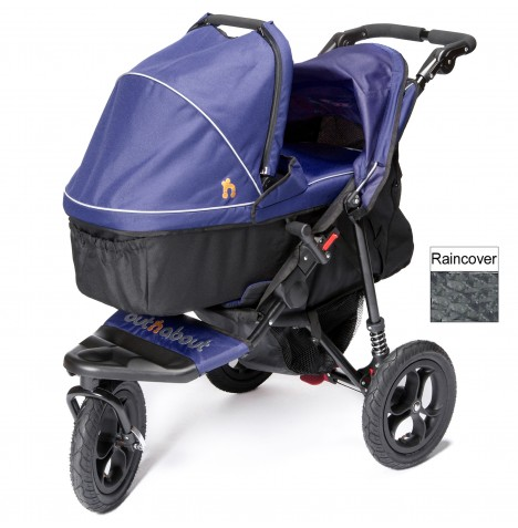 Out n About Nipper Single Pushchair & Carrycot - Royal Navy