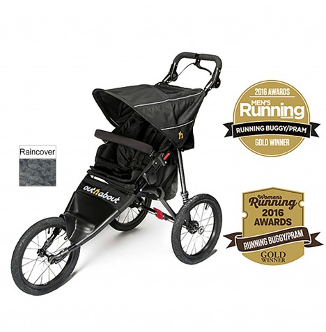 Out n About Nipper Sport Pushchair / Jogger - Raven Black