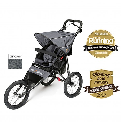 Out n About Nipper Sport Pushchair / Jogger - Steel Grey