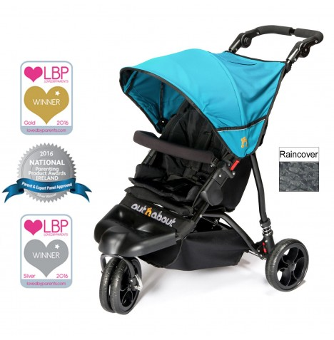 Out n About Little Nipper Single Pushchair - Marine Blue