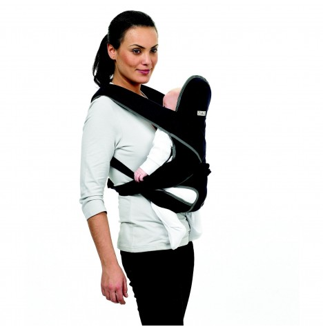 Hippychick Wilkinet 4 Position Baby Carrier - Black