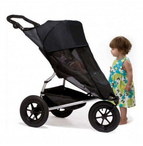 Outlook Shade a Babe Single Universal Pushchair Shade - Black
