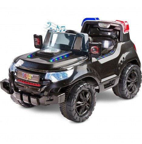 Toyz Battery Operated Patrol Ride-On - Black