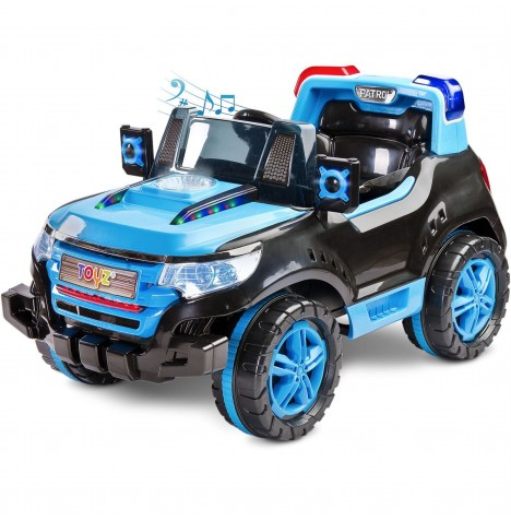 Toyz Battery Operated Patrol Ride-On - Blue