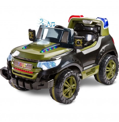Toyz Battery Operated Patrol Ride-On - Jungle