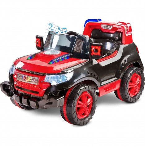 Toyz Battery Operated Patrol Ride-On - Red