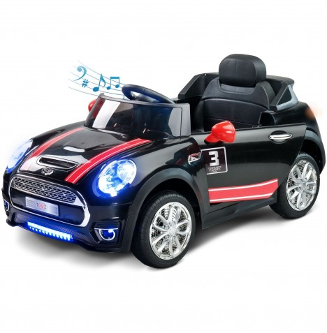 Toyz Battery Operated Maxi Sports Cabriolet Ride-On - Black