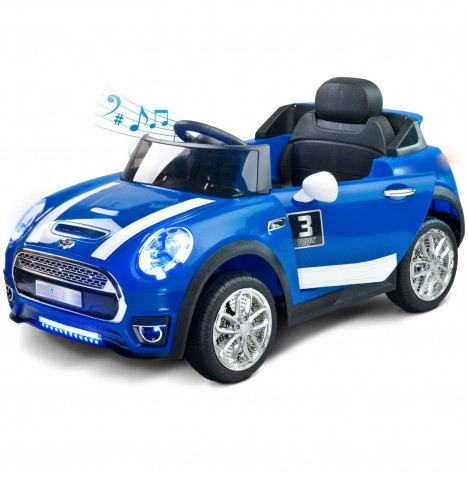 Toyz Battery Operated Maxi Sports Cabriolet Ride-On - Blue