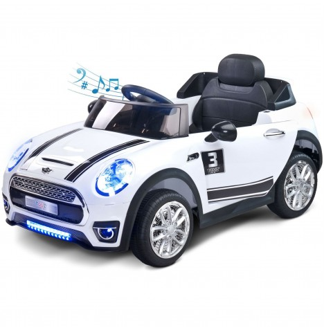 Toyz Battery Operated Maxi Sports Cabriolet Ride-On - White