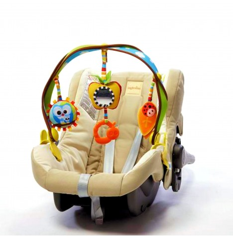 Tiny Love Stroller / Car Seat Take Along Activity Arch - Woodland