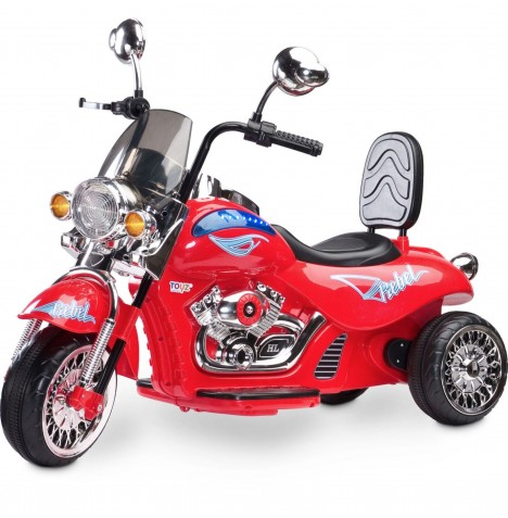 Toyz Battery Operated Rebel Motorbike Ride-On - Red