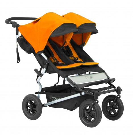 Mountain Buggy Duet With Family Pack - Orange