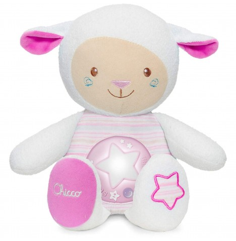 Chicco First Dreams Lullaby Sheep Nightlight - Pink