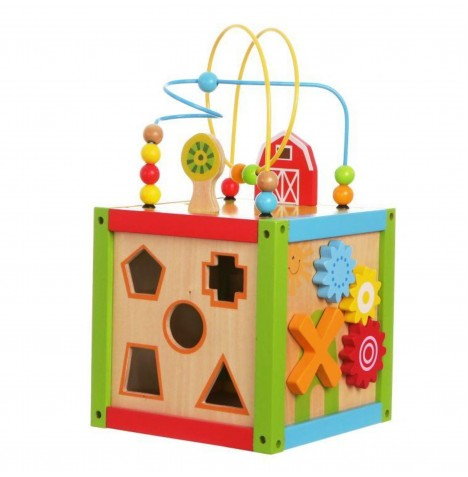 Supreme Baby Wooden Activity Cube