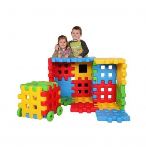 Supreme Baby Giant Construction Kids Toy Creative Building Brick Block Set (20pc)