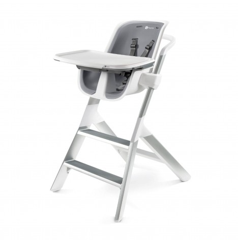 4moms High Chair 2.1 - White / Grey