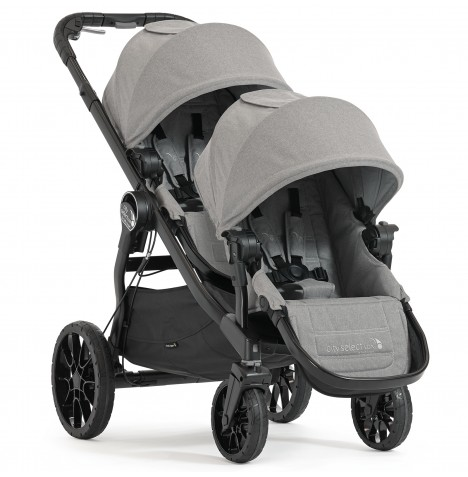 Baby Jogger City Select LUX Tandem Pushchair - Slate