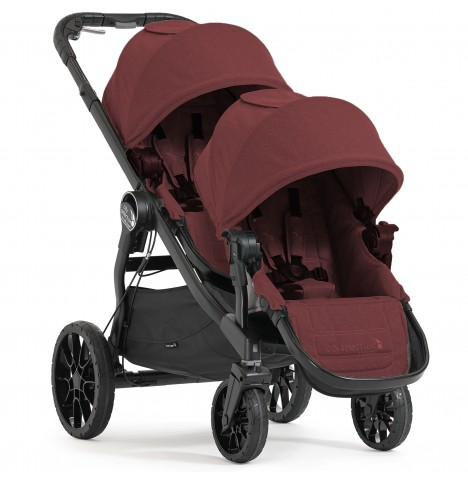Baby Jogger City Select LUX Tandem Pushchair - Port