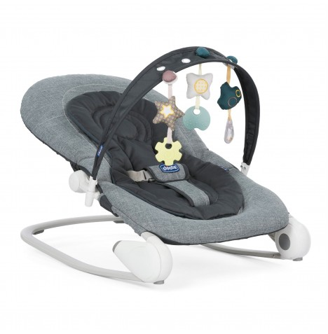 Chicco Hoopla Baby Rocker - Dark Grey