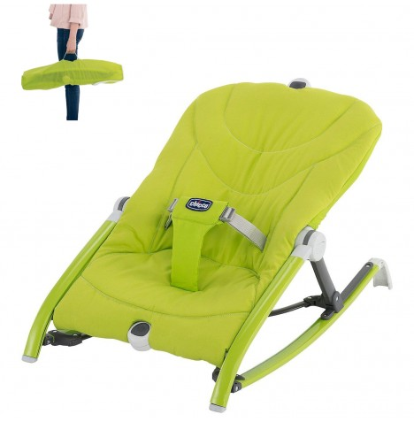 Chicco Pocket Relax Travel Baby Bouncer - Green