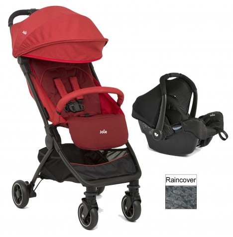 Joie Pact (Gemm) Travel System - Cranberry