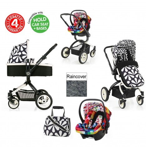 Cosatto Ooba 3 in 1 Travel System - Charleston / Pixelate..