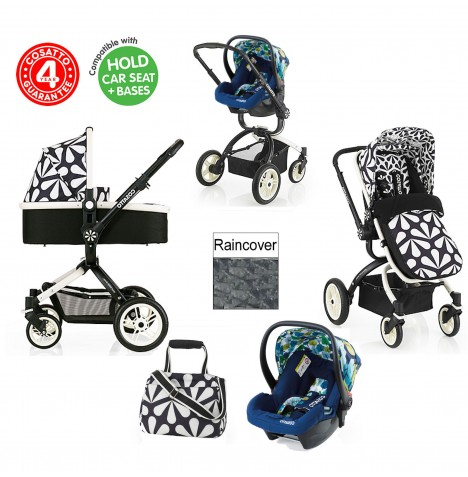Cosatto Ooba 3 in 1 Travel System - Charleston / Nightbird..