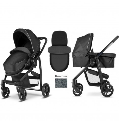 Graco Evo Pushchair & Carrycot - Pitstop