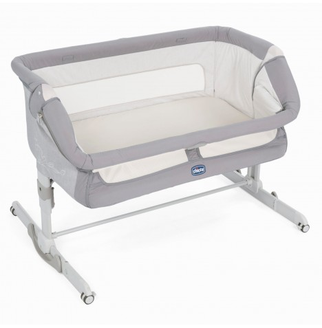 Chicco Next 2 Me Dream Side Sleeping Crib - Graphite Grey