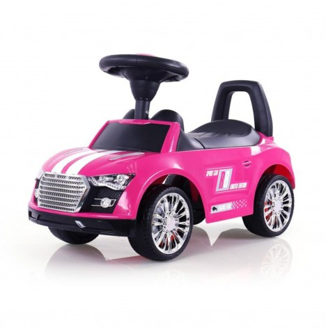 Milly Mally Racer Ride On - Pink