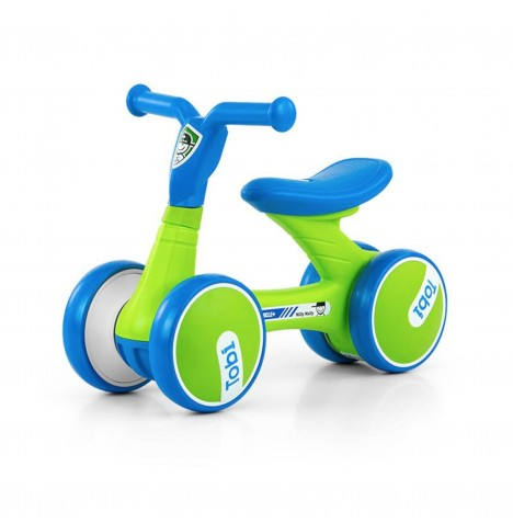 Milly Mally Tobi Ride On - Green / Blue