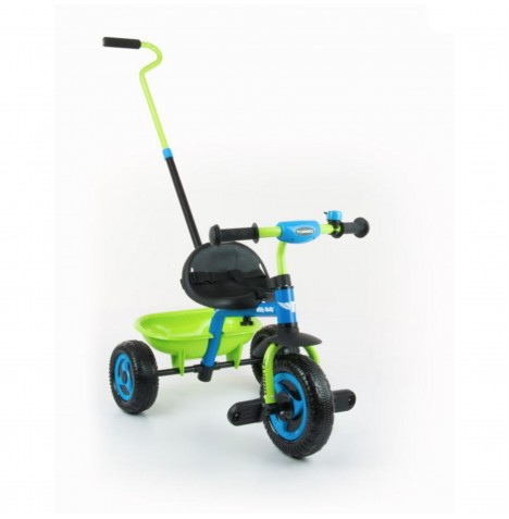 Milly Mally Turbo Tricycle - Blue / Green