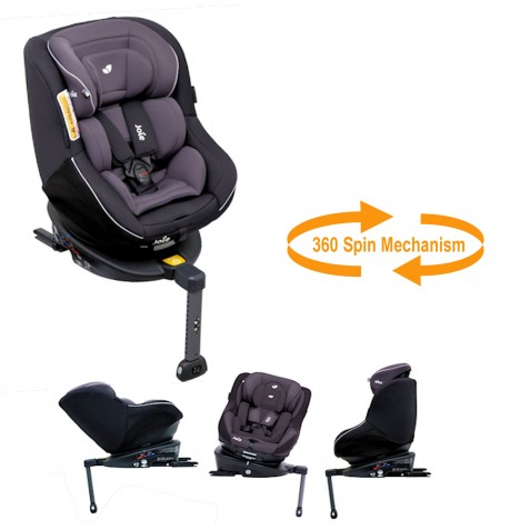 Joie Spin 360 Group 0+/1 Isofix Car Seat - Two Tone Black...